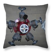 Original Male Pipe Throw Pillow