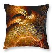 Origination Throw Pillow