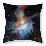 Orion Constellation Throw Pillow
