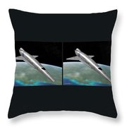 Orion IIi - Gently Cross Your Eyes And Focus On The Middle Image Throw Pillow