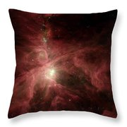 Orions Inner Beauty Throw Pillow by Stocktrek Images
