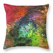 Orlando United Color Blend Throw Pillow