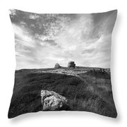 Orme Rocks Throw Pillow