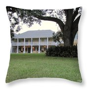 Ormond Plantation Throw Pillow