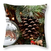 Ornament 228 Throw Pillow