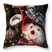 Ornament 239 Throw Pillow