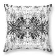 Ornament Flower Throw Pillow