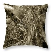 Ornament For A Wild Garden Throw Pillow
