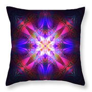 Ornament Of Light Throw Pillow