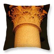 Ornamental Column Throw Pillow