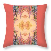 Ornamented Beauty Throw Pillow