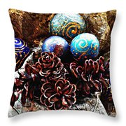 Ornaments 6 Throw Pillow