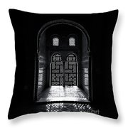 Ornate Alhambra Window Throw Pillow