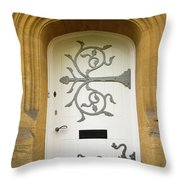 Ornate Door 1 Throw Pillow