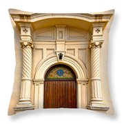 Ornate Entrance Throw Pillow by Christopher Holmes