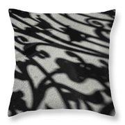 Ornate Shadows Throw Pillow by KG Thienemann