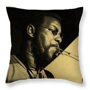 Ornette Coleman Collection Throw Pillow