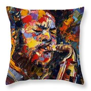 Ornette Coleman Throw Pillow