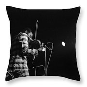 Ornette Coleman On Violin Throw Pillow