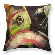 Ornithophobia  Throw Pillow