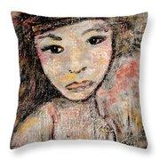 Orphan Throw Pillow