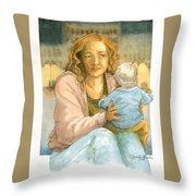 Orphans And Widows Throw Pillow