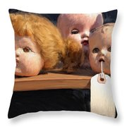 Orphans Throw Pillow