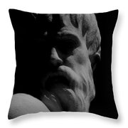 Orpheus Looks Back Throw Pillow