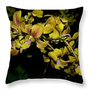 Orquid Throw Pillow