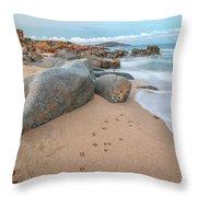 Orri Beach Throw Pillow