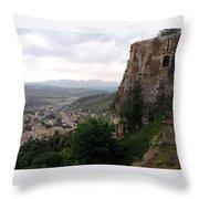 Orvieto Italy Throw Pillow