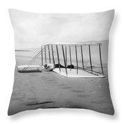Orville Wright, 1901 Throw Pillow