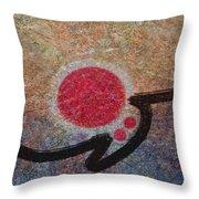 Osaka Summer Throw Pillow