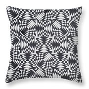Osculating Circles Throw Pillow