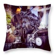 Oscura Medusa Throw Pillow