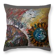 Osho's Vision Throw Pillow