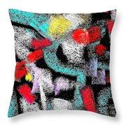 Osile Multicolor Throw Pillow