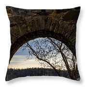 Oslo From Akershus Fortress Throw Pillow