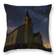 Oslo Milky Way  Throw Pillow