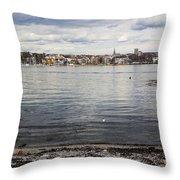 Oslo Waterfront Throw Pillow