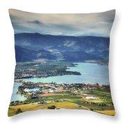 Osoyoos Lake 2 Throw Pillow