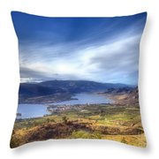 Osoyoos Lake Throw Pillow