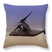 Osprey In Flight IIi Throw Pillow