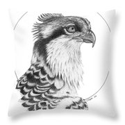 Osprey Throw Pillow