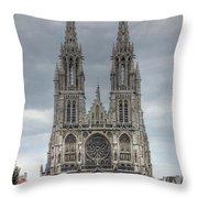 Ostend Belgium Throw Pillow