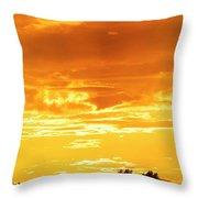 Oswego Sunset 5 Throw Pillow