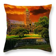 Otago Uni Throw Pillow