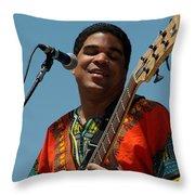 Oteil Burbridge Throw Pillow