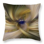 Other Side Of Blue Throw Pillow