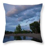 Ottawa River Throw Pillow